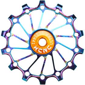 KCNC Jockey Wheel 14T Narrow Wide SS Bearing Long Teeth oil slick